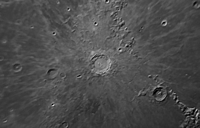 Krater Kopernik – Księżyc