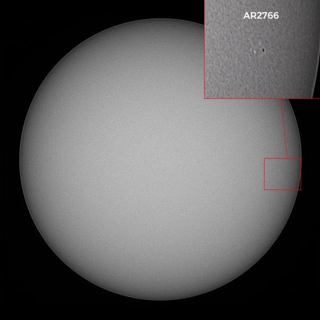 Słońce, plamy AR2766