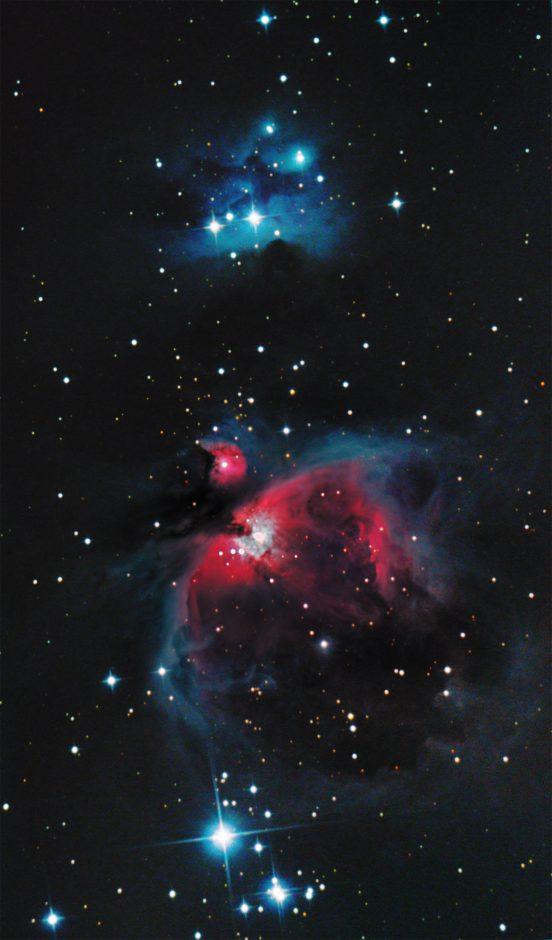 Parujący Orion