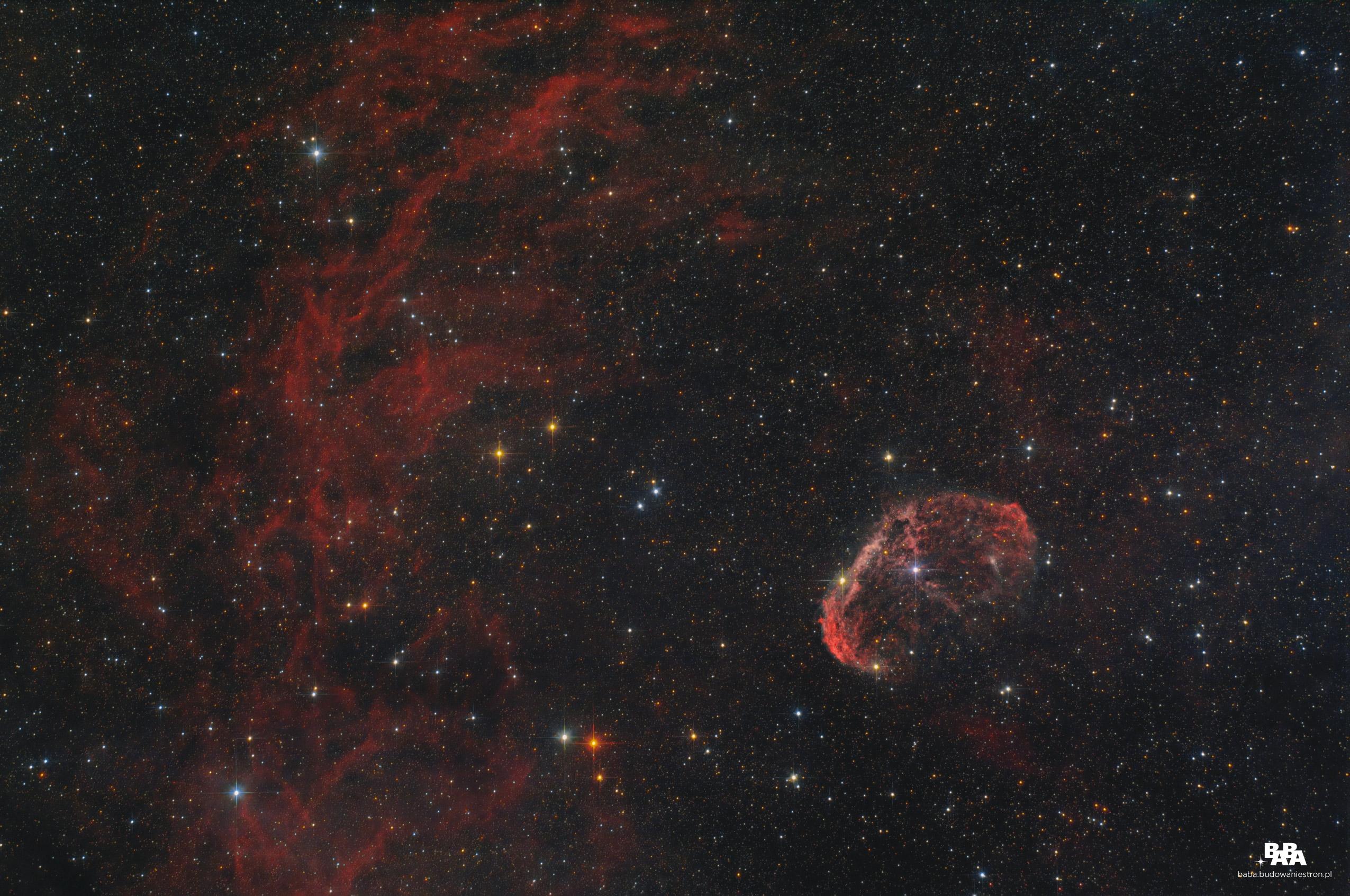 Mgławica Półksiężyc