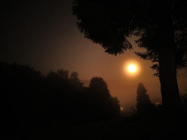 Bieszczadzki księżyc